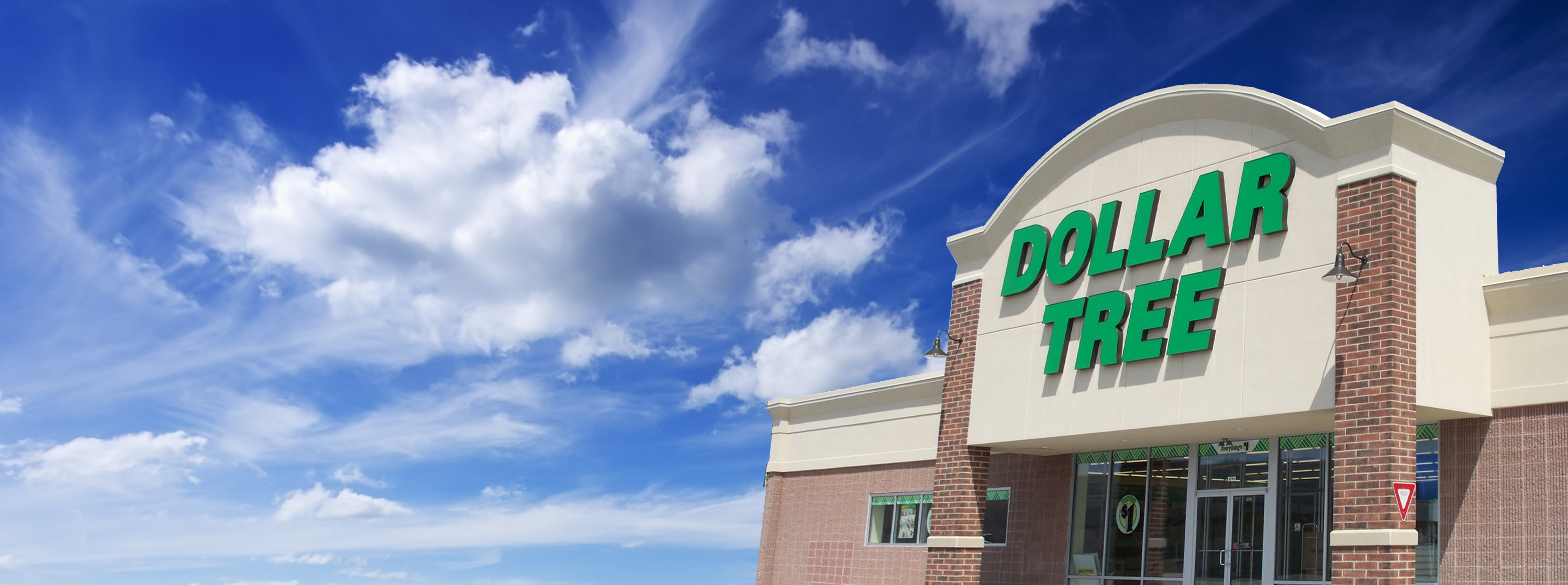 Dollar Tree Retail Store Signs
