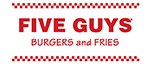Five Guys Restaurant Signs