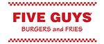 Five Guys Restaurant Signs